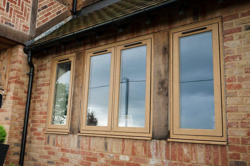 Chamfered & Sculpted Windows
